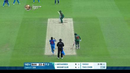 #CT17 Warm-up: Bangladesh innings wickets