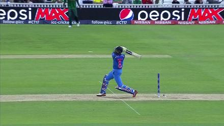 #CT17 Warm-Up: Ravindra Jadeja wicket