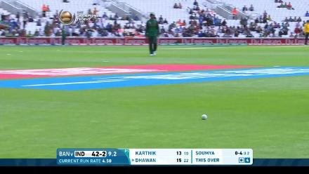#CT17 Warm-Up: Shikhar Dhawan fifty