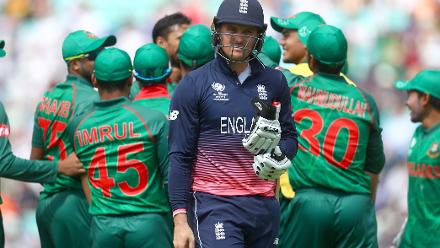 Jason Roy fell for 1 to Mashrafe Mortaza