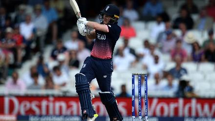 Following the 159-run stand between Hales and Root, Eoin Morgan scored freely and kept England's nose ahead in the chase.