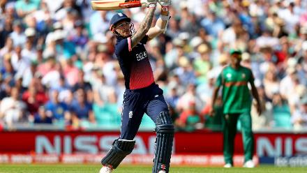 Alex Hales raised the scoring rate and was finally dismissed for a 86-ball 95 by Sabbir Rahman
