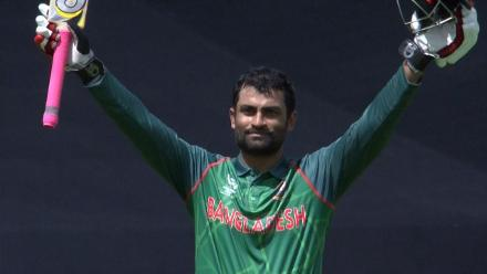 CENTURY: Tamim Iqbal brings up his 100