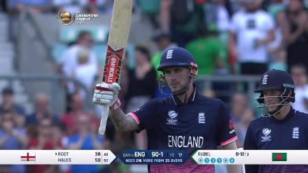 #CT17: Match Hero - Alex Hales