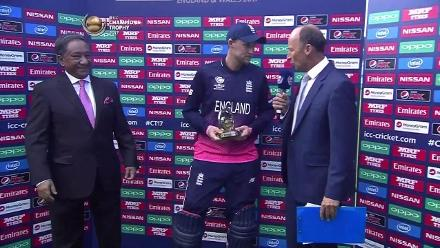 #CT17 Eng v Ban: Player of the match - Joe Root
