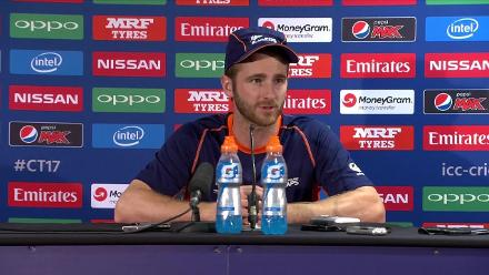 #CT17 NZ v Aus – Kane Williamson press conference