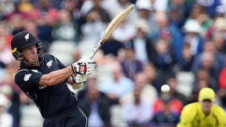 New Zealand had started strongly with the bat courtesy Luke Ronchi's 65 off 43 deliveries