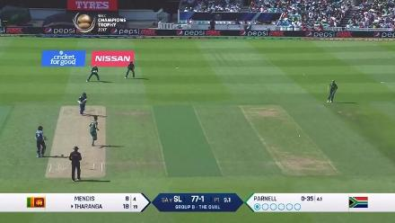 FIFTY: Tharanga brings up his half-century for Sri Lanka