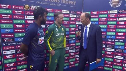 CAPTAIN'S INTERVIEW: de Villiers and Tharanga
