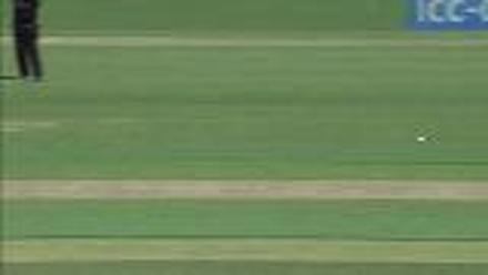 WICKET: Faf du Plessis falls to Nuwan Pradeep for 75