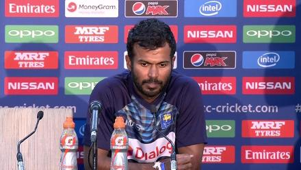 #CT17 SL v SA - Upul Tharanga post-match press conference