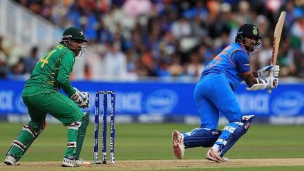 Shikhar Dhawan scored 68 off 65 balls, including six fours and one six.