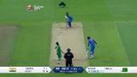 #CT17 Ind v Pak: India innings last 5 overs