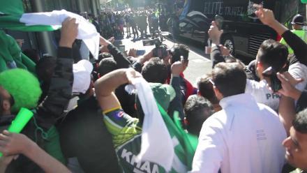#CT17 Ind v Pak: Pakistan team arrives at Edgbaston, Birmingham