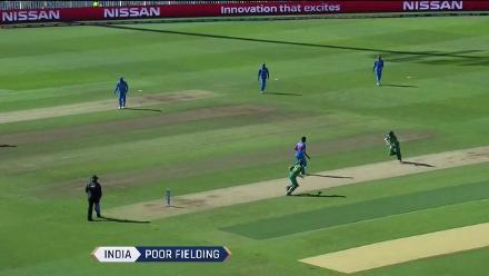 #CT17 Ind v Pak: India fielding lapses