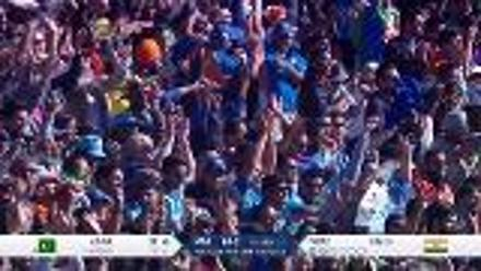 WICKET: Babar Azam falls to Umesh Yadav for 8
