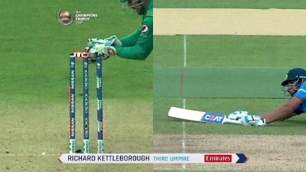 WICKET: Rohit Sharma is run-out by Babar Azam for 91