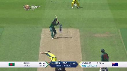 #CT17 Aus v Ban: Tamim Iqbal innings