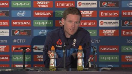 #CT17 Eng v NZ: Eoin Morgan Pre-match press conference