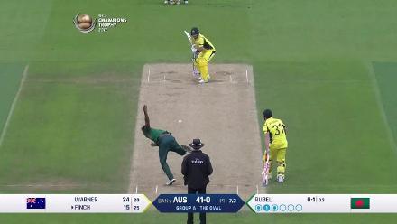 #CT17 Aus v Ban: Australia innings so far