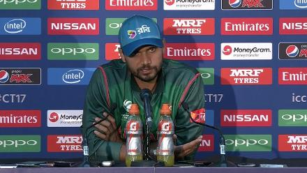 #CT17 Aus v Ban: Mashrafe Mortaza post-match press conference