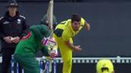 WICKET: Mushfiqur falls to Henriques for 9