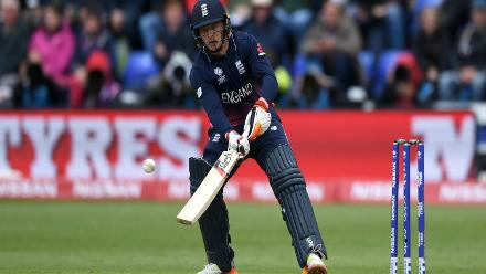 The fireworks though came from Jos Buttler's willow as he slammed an unbeaten 48-ball 61 studded with two boundaries and as many sixes to propel England to a competitive 310 in 49.3 overs.