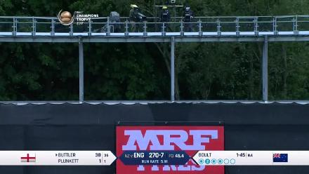 FIFTY: Jos Buttler brings up his half-century for England