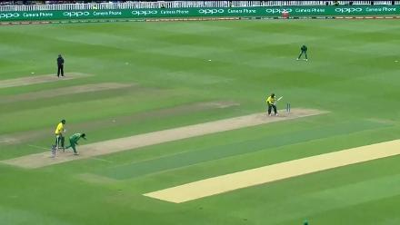 WICKET: Kagiso Rabada falls for 26