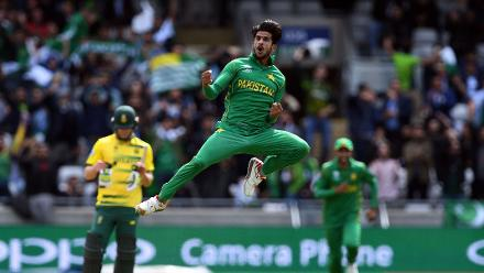 Hasan was inspired against South Africa, taking three good wickets as he dragged Pakistan back into the tournament