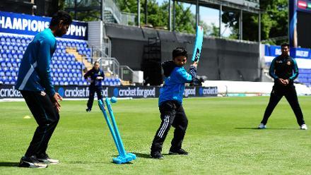 ICC Cricket For Good Clinic – Bangladesh, Birmingham
