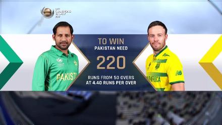 #CT 17 PAK v SA Match highlights