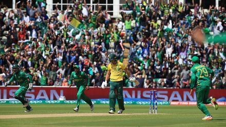 South Africa v Pakistan - Champions Trophy, Group B, Edgbaston