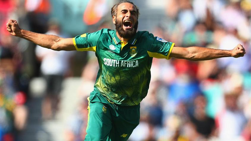 Tahir is never out of the game, claiming four wickets already and further burnishing his points tally with two good catches