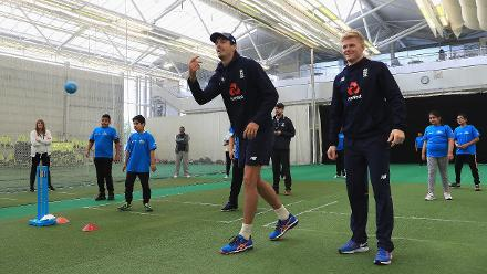 ICC Cricket For Good Clinic – England, Birmingham