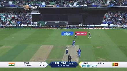 Dhawan gets to his 50 off 69 balls