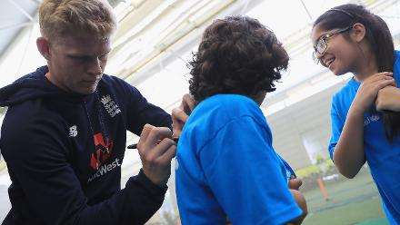 ICC Cricket For Good Clinic – England, Birmingham