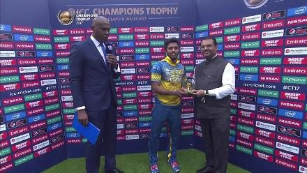 #CT17: IND vs SL Player of the Match - Kusal Mendis