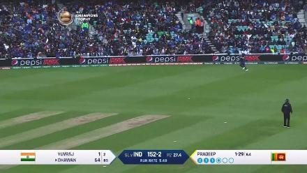 CENTURY: Dhawan gets to his 10th ODI ton
