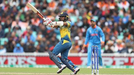 Kusal Mendis provided great support to Gunathilaka to himself put up a fifty as the partnership grew increasingly worrisome for India.