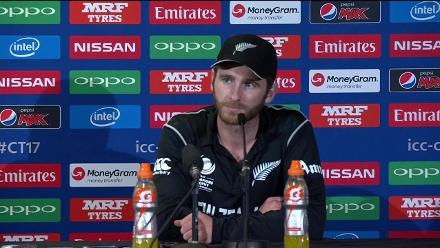 #CT17 NZ v BAN - Kane Williamson Press Conference
