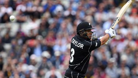 Ross Taylor scored 63 off 82 to take New Zealand to 265 for 8