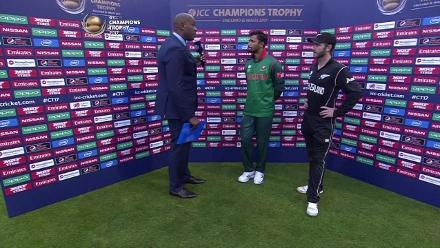 NZ vs BAN - Captains Interview