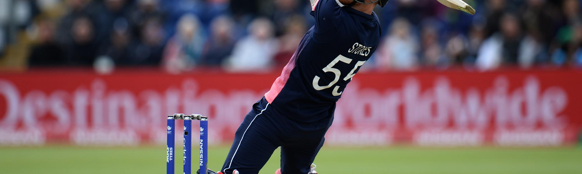 Ben Stokes hit 48 and took a crucial wicket in the host's last match versus New Zealand