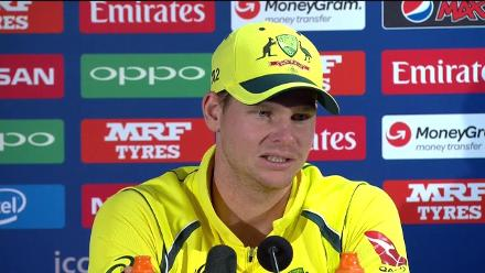 #CT17 ENG v AUS - Steve Smith Post-Match Press Conference