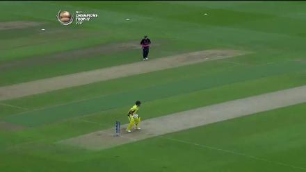 FIFTY: Aaron Finch brings up his half-century for Australia