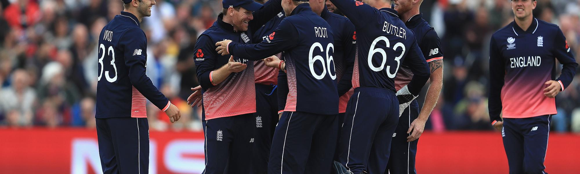 Ben Stokes struck to remove Aaron Finch for a splendid 64-ball 68 to bring England back in the contest.