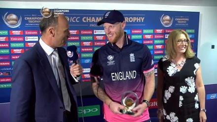 #CT17 ENG vs AUS - Player of the Match - Ben Stokes