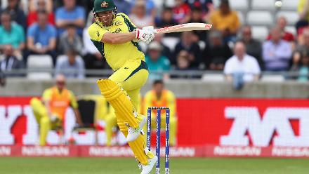 Aaron FInch kept the ball rolling for Australia bringing up a fine half-century.