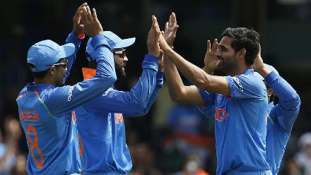 India were full of confidence and that showed in the way Bhuvneshwar Kumar and Jasprit Bumrah bowled